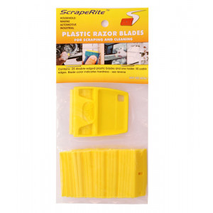 SR 25 LG ACY - acrylic yellow 25 pack w/ holder