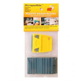 SR 25 LGY PCB - polycarbonate blue 25 pack w/ holder