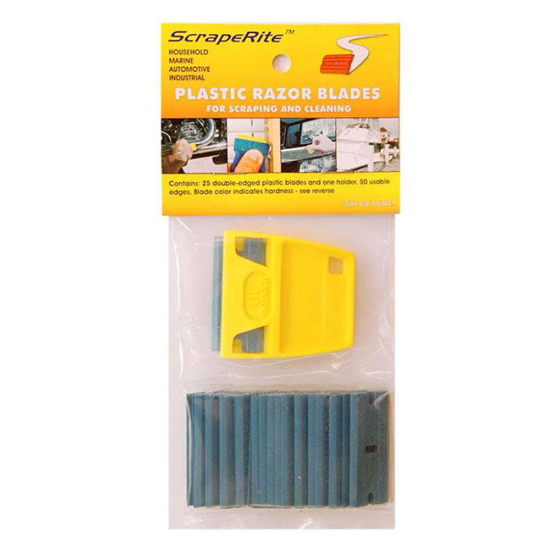 SR 25 LG PCB - polycarbonate blue 25 pack w/ holder