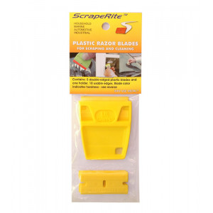 SR 5 LG ACY - acrylic yellow 5 pack w/ holder